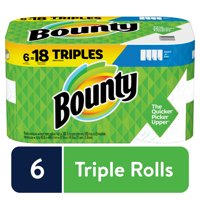 Bounty Select-A-Size Paper Towels, White, 6 Triple Rolls