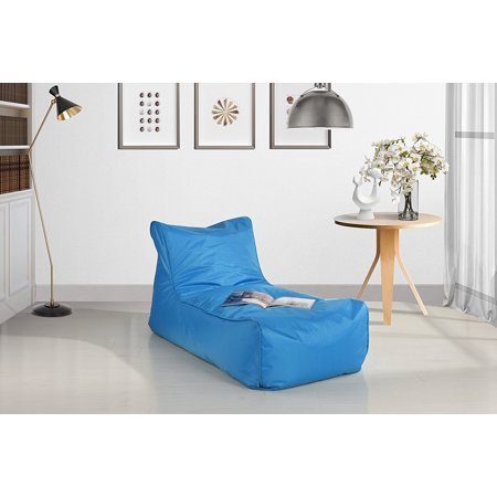 Lazy Lounge Waterproof Gaming Chair Bean Bag For Kids Blue