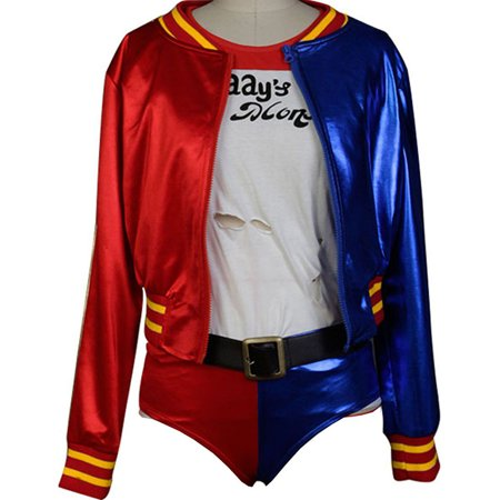 Fuman Suicide Squad Harley Quinn Cosplay Costume X Small