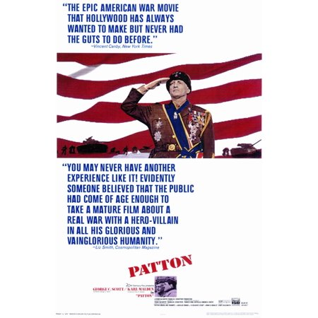 Patton  1970  11X17 Movie Poster