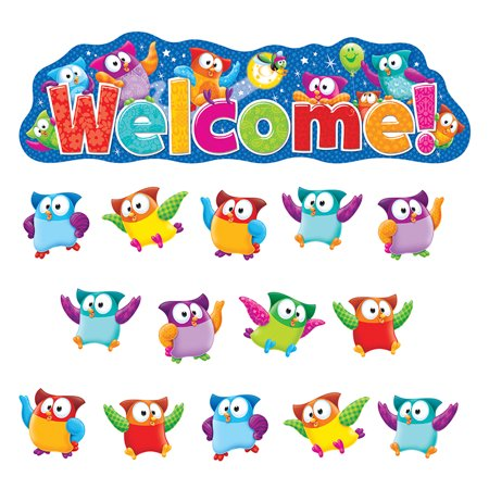 Owl Stars Welcome Bb Set - image 1 de 1