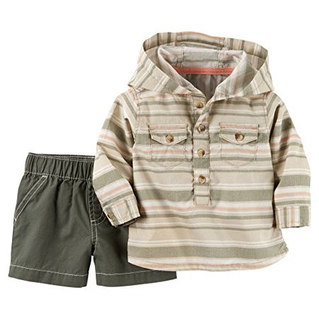 Borg Outfit (Boys' 2 Pc Sets 127g137, Khaki, New)