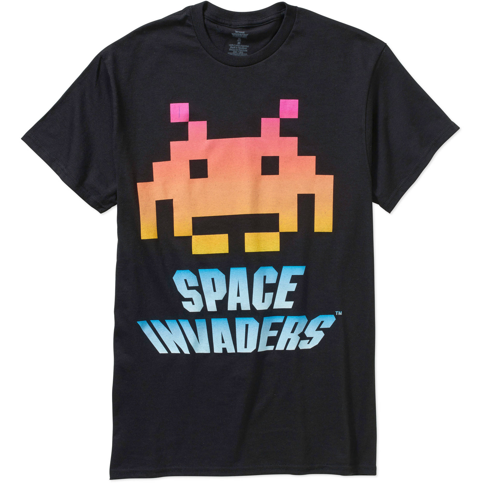 Space Invaders Men's Graphic Short Sleeve Tee