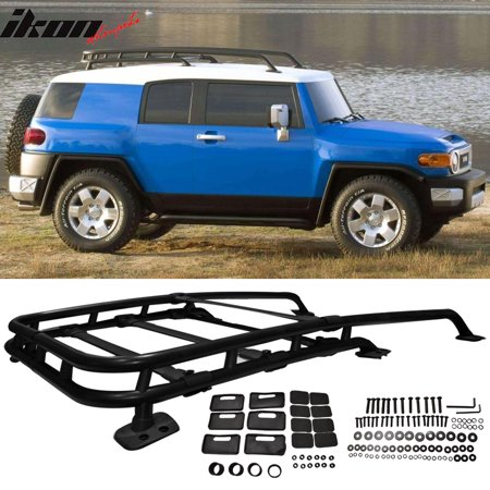 - Fits 07-14 Fj Cruiser Aluminum OE Roof Rack Rail Cross Bar Luggage Carrier