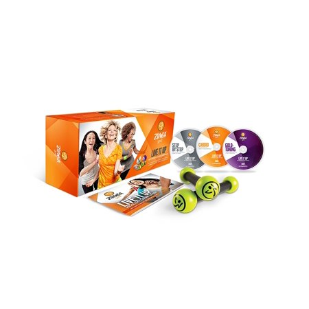 Zumba Fitness Gold Live It Up DVD Set for the Baby Boomer