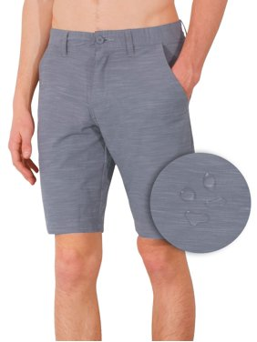 Burnside Hybrid Stretch Shorts For Mens Lightweight Boardshorts Grey - 30