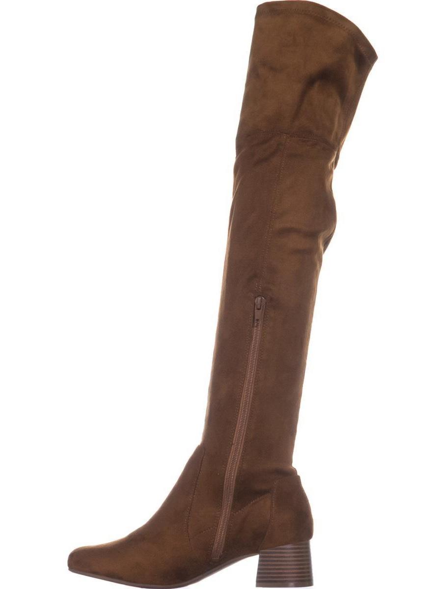 Womens naturalizer Danton Fabric, Tall Over-the-Knee Boots, Brandy Fabric, Danton 8 W US a489d6
