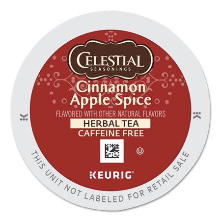 Celestial Seasonings Cinnamon Apple Spice K-Cups, 24/Box -GMT5402
