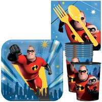 Incredibles Party Decorations - Standard Kit - Serves 8