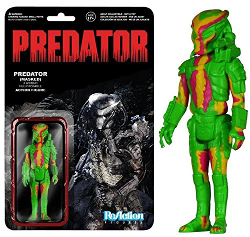 Predator Masked Predator ReAction 3 3//4-Inch Fully Posable Action Figure