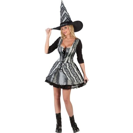 Morris Costumes Womens Witch Gothic Rose Adult Halloween Costume