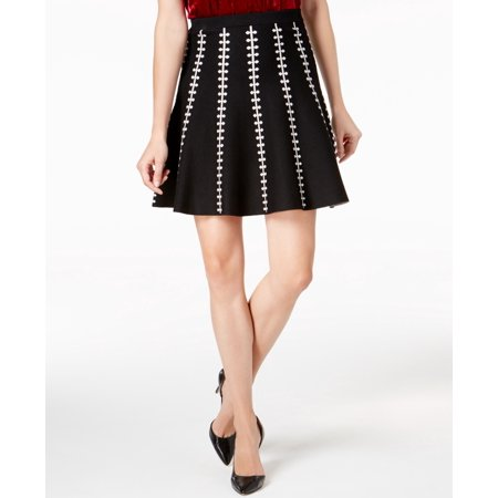 Olivia & Grace  - Jacquard Flared Skirt - Regular - M