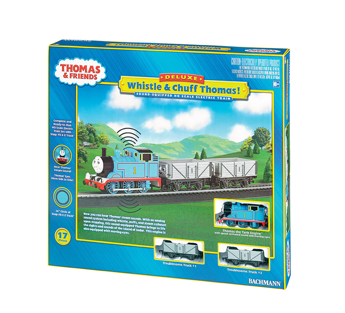 Bachmann Trains Thomas and Friends Whistle and Chuff Thomas!, HO Scale Ready-To-Run... by Bachmann Trains