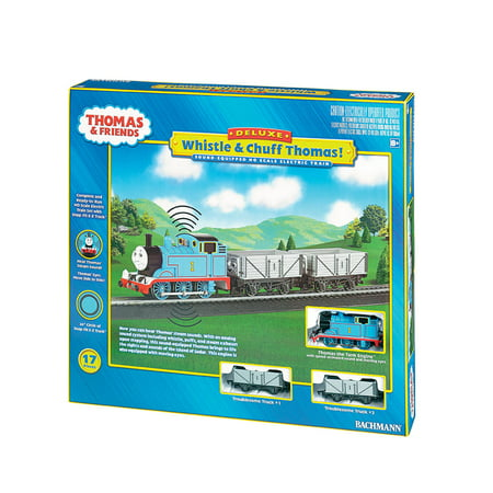 Train Whistle Set (Bachmann Trains HO Standard Guage Whistle and Cuff Thomas E-Z Track Train)