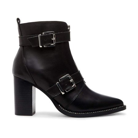 Steve Madden Halle Leather Bootie (Women's)
