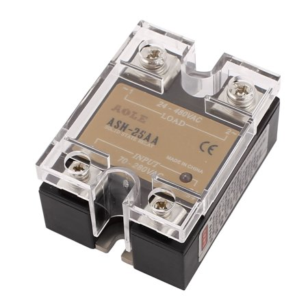 ASH-25AA 70-280VAC to 480VAC 25A Single Phase Solid State - Relay