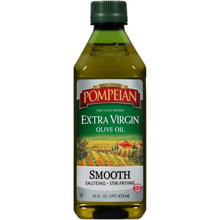 Pompeian Smooth Extra Virgin Olive Oil 16 Fl Oz Extra Virgin Ground Olive Oil