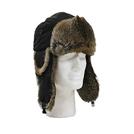 fe4d8590434 ONLINE - Winter Faux Fur Trapper Hat For Men   Women -Black - Walmart.com
