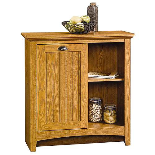 Superior Sauder Storage Cabinet, Carolina Oak