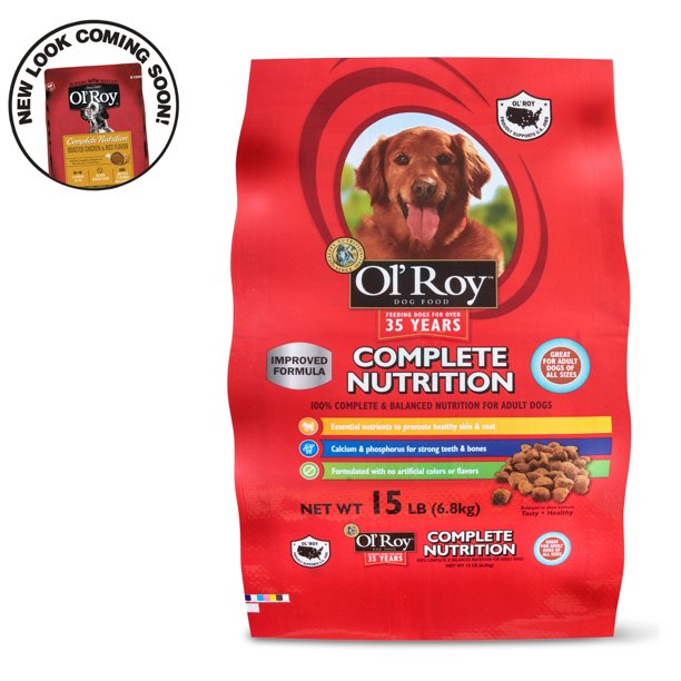 Ol Roy Complete Nutrition Adult Dry Dog Food 15 Lbs Walmart Com Walmart Com
