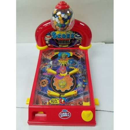 Dubble Bubble Pinball Gumball Machine (Pinball Machine Balls)