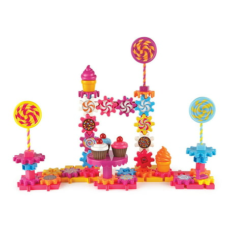 Learning Resources Gears! Gears! Gears! Sweet Shop Building Set (Assorted Plastic Gears)