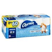 Charmin Ultra Soft Toilet Paper, 20 Triple Rolls per Pack