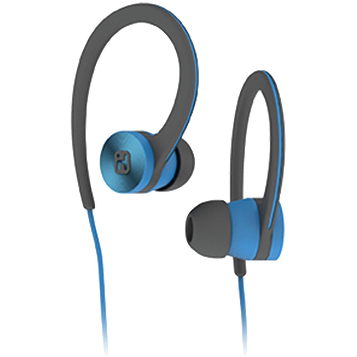Ihome Ib28blc Over-ear Sport Headphones (Blue/Black)