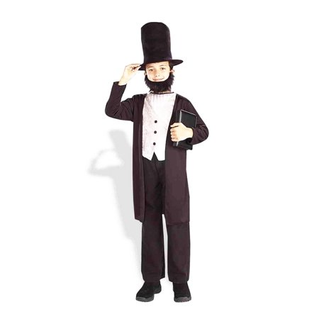 CHCO - ABRAHAM LINCOLN - XL - Abraham Lincoln Costume For Kids
