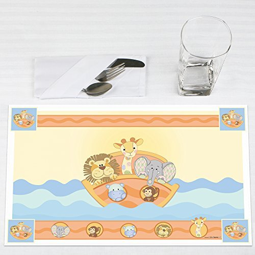 Noah's Ark Party Placemats Set of 12 by Big Dot of Happiness, LLC