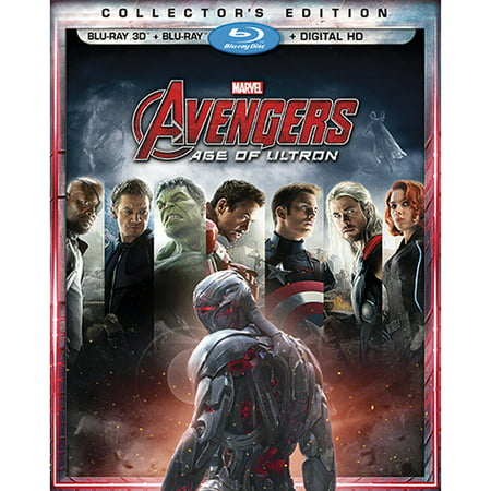 Age Of Ultron Jarvis (Avengers: Age of Ultron (Collector's Edition) (Blu-ray 3D + Blu-ray + Digital)