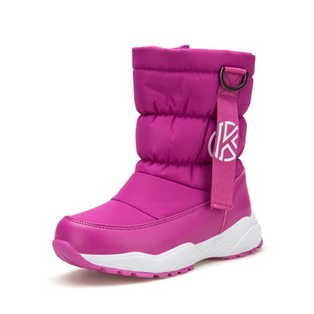 Snow Boots for Girls Waterproof Slip Resistant Winter Warm Boys Shoes (Little Kid/Big Kid)