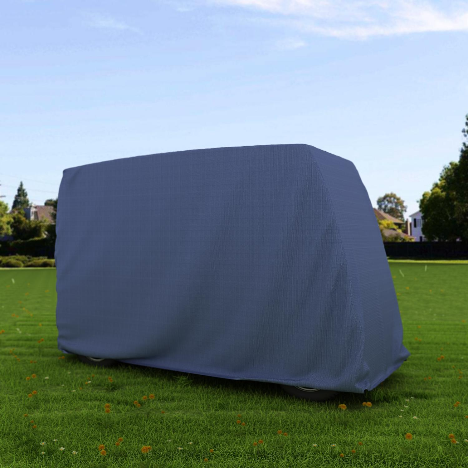 "Roof up to 58"" Golf Cart Cover Storage Waterproof  for 2-..."