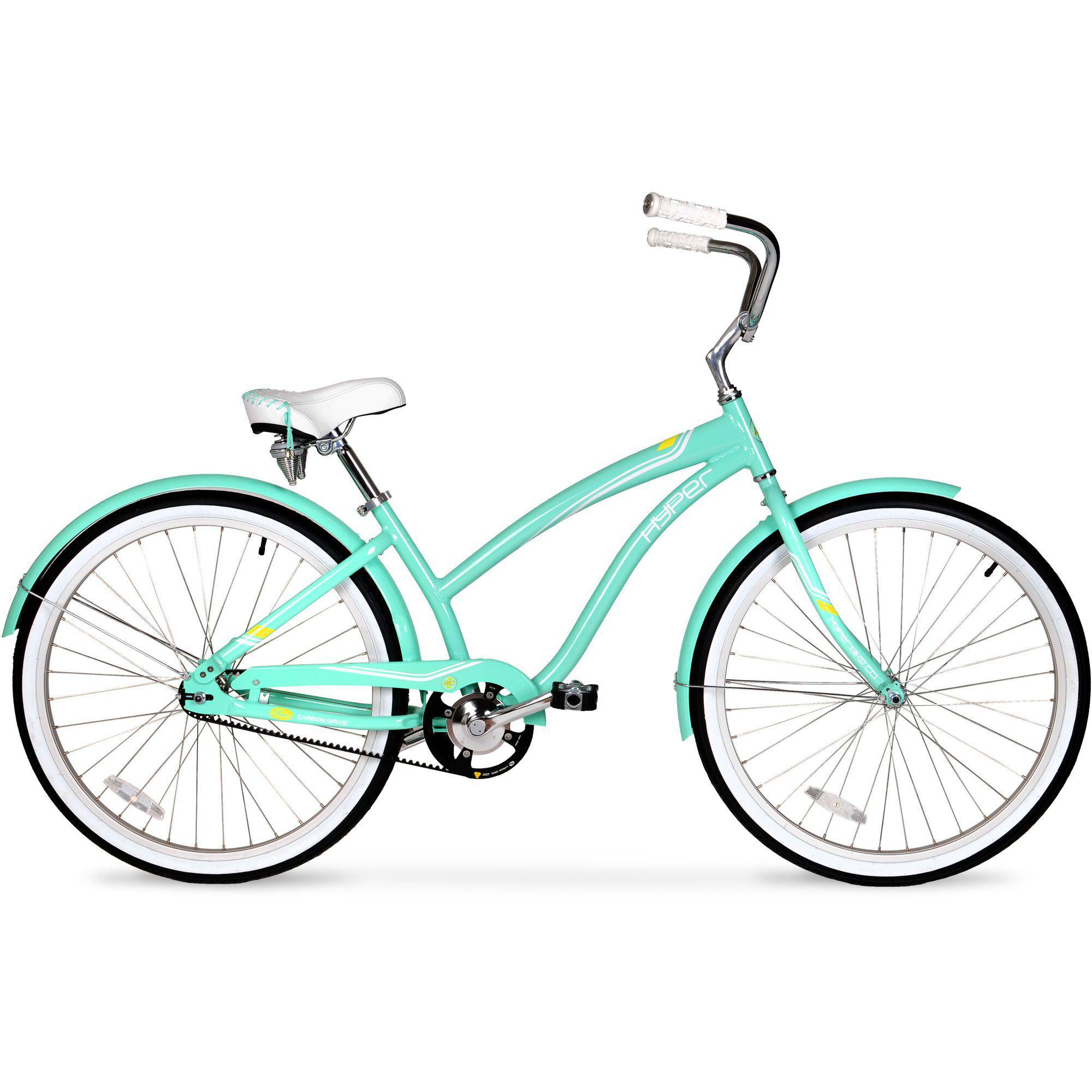 "26"" Women's Hyper HBC Belt Drive Bike, Seafoam Green"