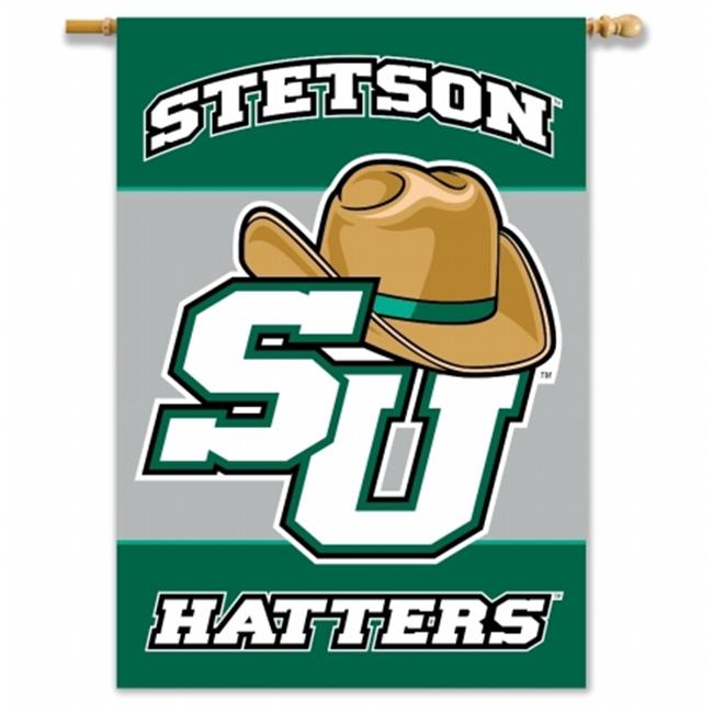 BSI PRODUCTS 96088 2-Sided 28 inch X 40 inch Banner with Pole Sleeve - Stetson