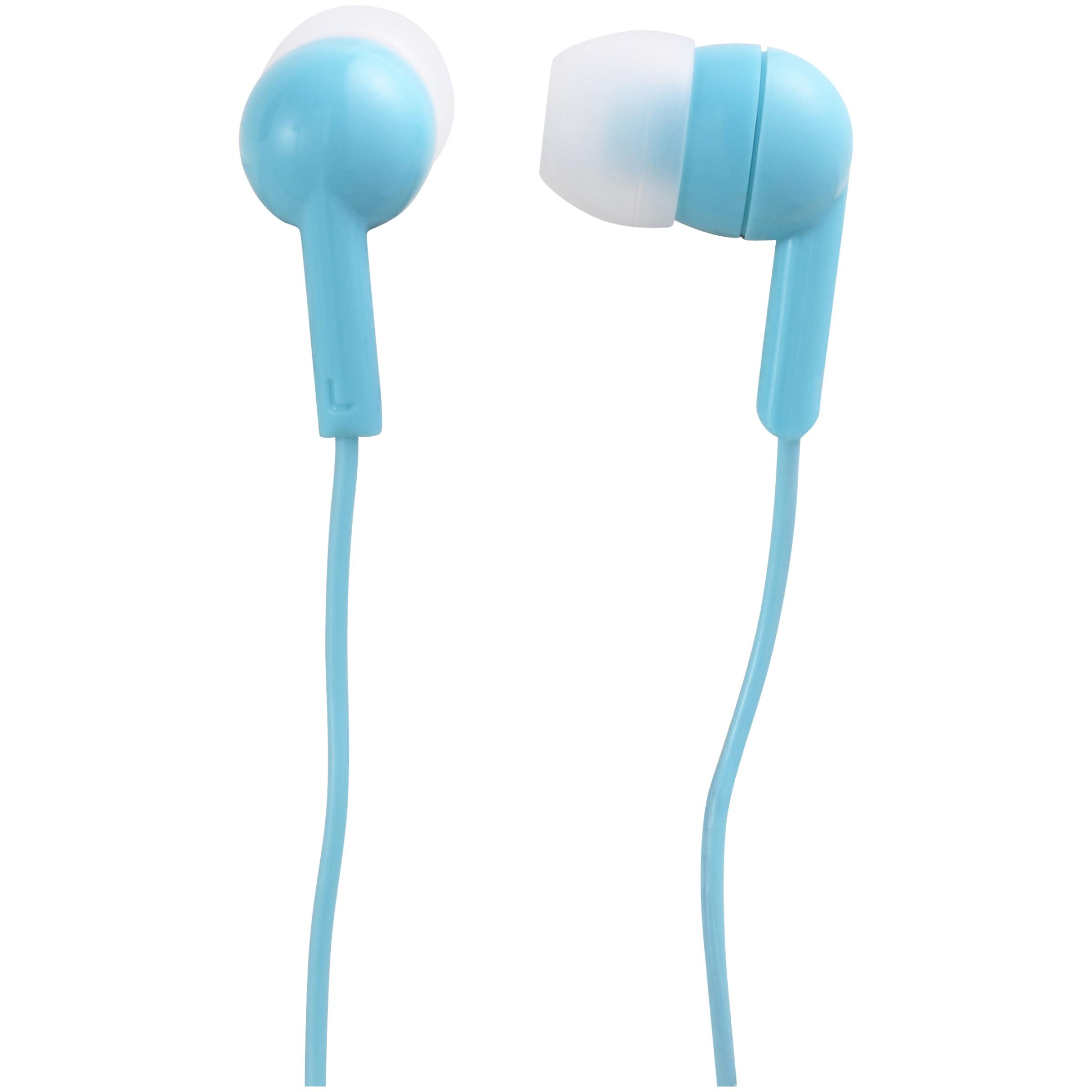 onn. Basic In-Ear Headphone Earbuds - Teal