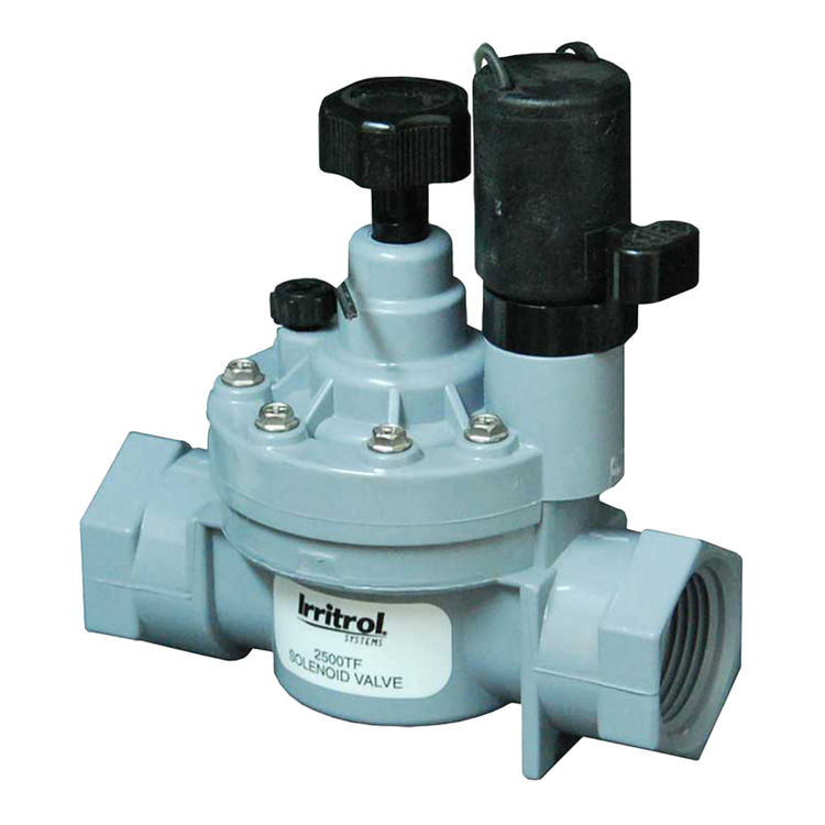 Irritrol 2500TF Electric Sprinkler Valve with Flow Control by