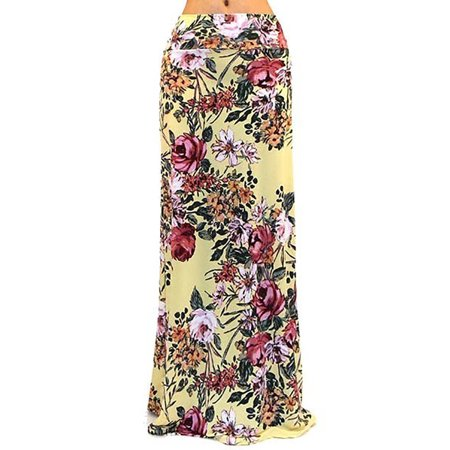 Got Style Women's Patterned Maxi Skirt Ankle Length, Many Design Choices
