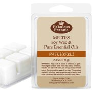 Patchouli 100% Soy Wax Meltie/Tart/Melt made with Pure Essential Oil 2.5 oz