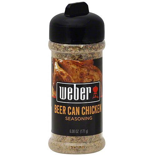Weber Beer Can Chicken Seasoning, 6 oz (Pack of 8)