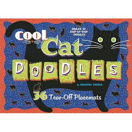 Cool Cat Doodles ( Doodle Placemats )