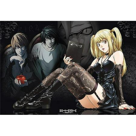 Death Note - Manga / Anime TV Show Poster / Print (Misa, L & Light) (Size: 39