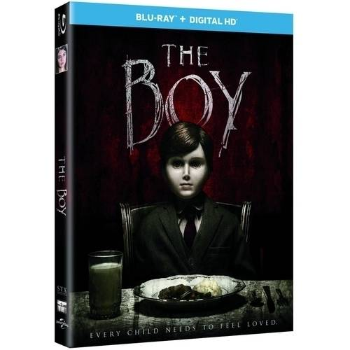 The Boy (Blu-ray + Digital HD) (With INSTAWATCH)