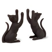 IMAX Cat Bookends - Set of 2