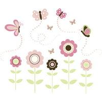 WallPops Butterfly Garden Wall Art Kit
