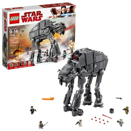 LEGO Star Wars TM First Order Heavy Assault Walker (Lego Star Wars The Complete Saga Manual)