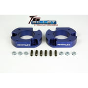 ReadyLift Suspension 09-14 Ford Raptor 2.0in Leveling Kit T6 Billet - Blue