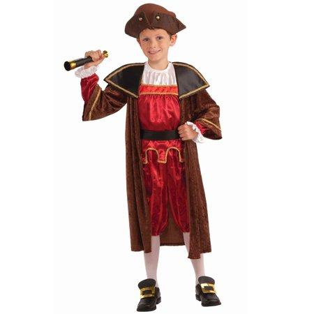 Christopher Columbus Child Costume (XL)