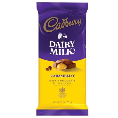 4 Ounce Caramel - CARAMELLO Chocolate Candy Bar, Milk Chocolate Filled with Caramel, 4 Ounce Package (Pack of 14) 4 ounce - Pack of 14