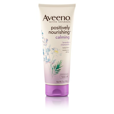 (Aveeno Positively Nourishing Lavender And Chamomile Calming Body Lotion, 7 Fl. Oz)